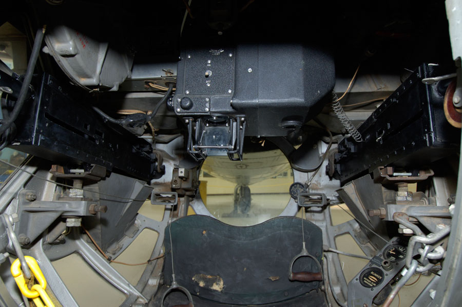 B-17 Bomber Interior  B17 Bomber Interior